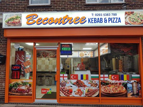 Becontree Kebab Pizza House Barking And Dagenham