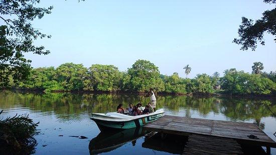 Eluwankulam, Sri Lanka: Uppu Aru ( Salt River) boat safari