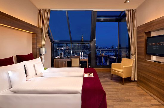 City View Deluxe Room At Flemings Selection Wien City Picture Of