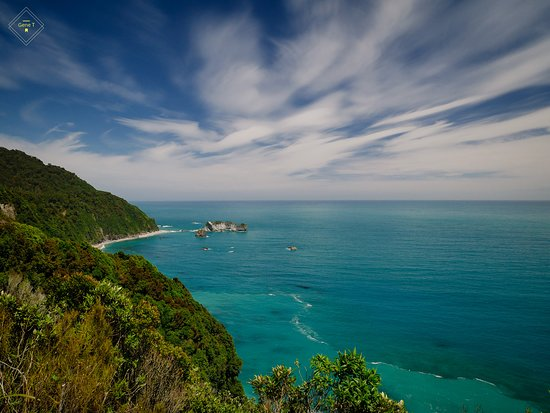 Haast, New Zealand: Knights Point Lookout