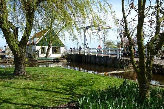 アムステルダム発、オランダの村と田園風景のサイクリングツアー