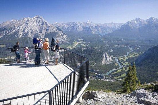 Visite de la ville de Banff