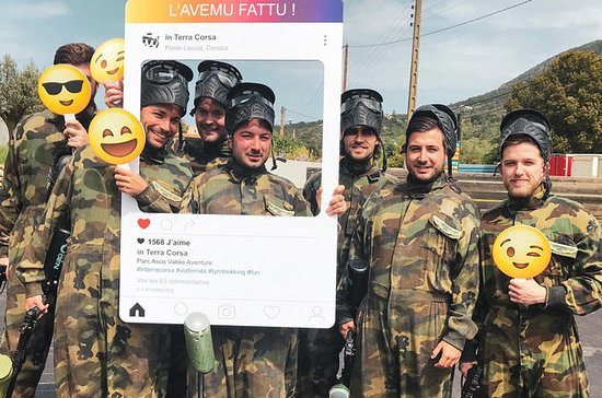 Paintball en Corse