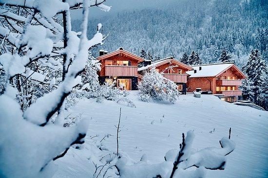 Winter in Wald am Arlberg