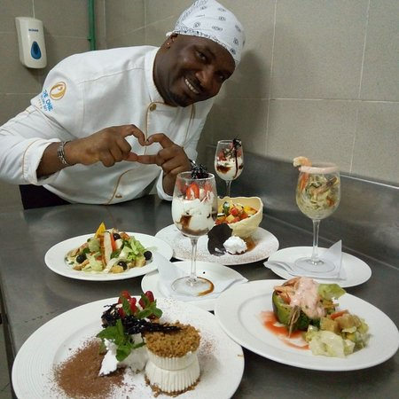 Beautiful cuisine courtesy of our award winning chef!