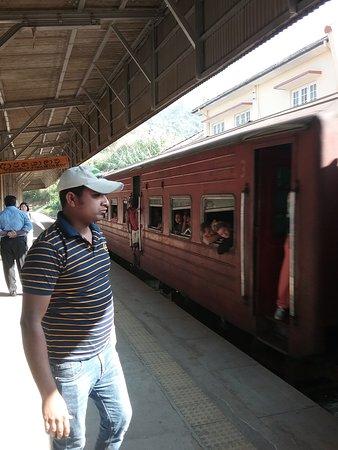 Nanu Oya, Srí Lanka: Normal carriage