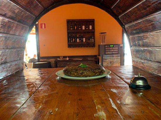 Tuineje, Spain: tortilla
