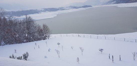 Kukes, Albanien: Snow/Winter