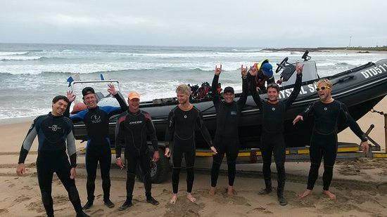 Scottburgh, Jihoafrická republika: Lets go dive
