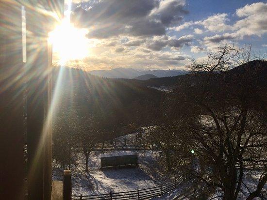 Liebenfels, Austria: Schlintl Hof Silvester 2018/2019; Blick aus der kleinen Hütte
