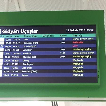 Turkmenistan Airlines Photo