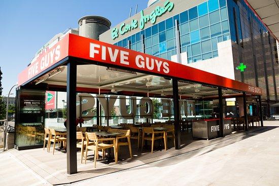 Five Guys Castellana Azca Madrid Tetuan Menu Prices