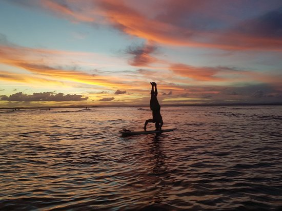 Ponta do Muta, BA: Por do sol na ponta do mutá