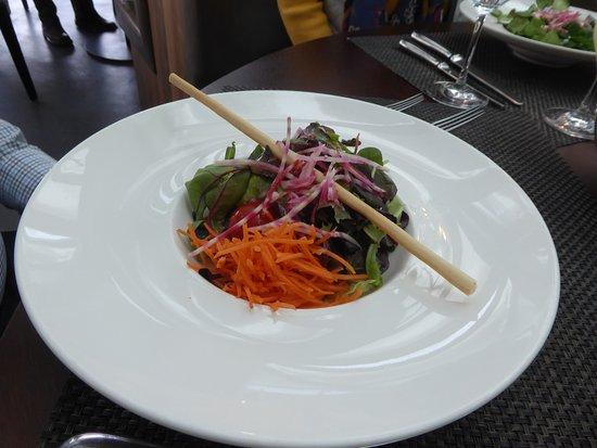 Uetliberg, Szwajcaria: Kleiner knackiger Salat