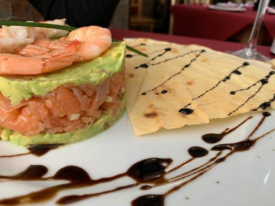 Fuente de Piedra, Spain: Ummmmm! Tartar de salmón... ESPECTACULAR!!!!
