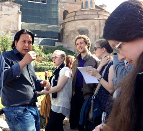 Eternal City Tours: Our guides in action