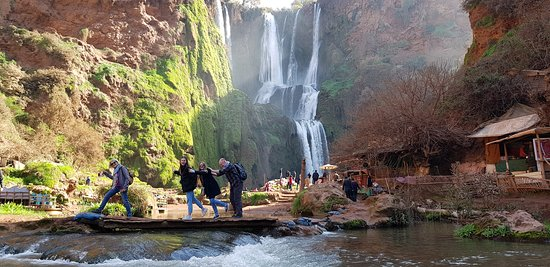Tadla-Azilal Region, โมร็อกโก: The famous waterfalls in Morocco, Ouzoud ,province of Azilal.
