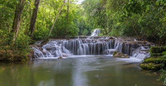 Estancia Mimosa Ecoturismo: Cachoeira da Água Doce - Estância Mimosa. Foto: Marcos Amend