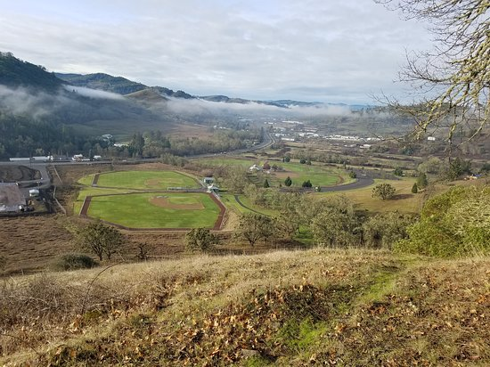 Roseburg, OR: Sunshine Park view from the top