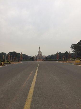 Blick zur ehemaligen Privatresidenz des Vize-Königs von Indien