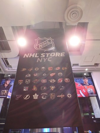 bdaca476ce1 NHL Store (New York City) | June 2019 | All You Need to Know BEFORE ...