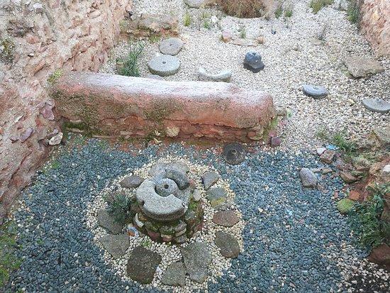 Capilla del Palacio: Yacimientos arqueológicos.