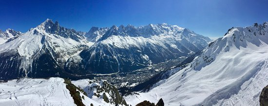View from Flegère slopes :-)