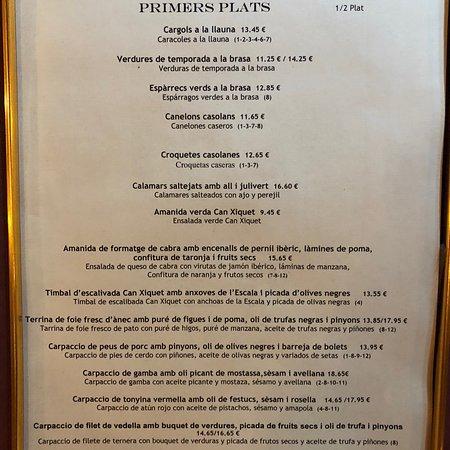 Campllong, Spain: En referència a una critica la carta del Restaurante el iva incluido