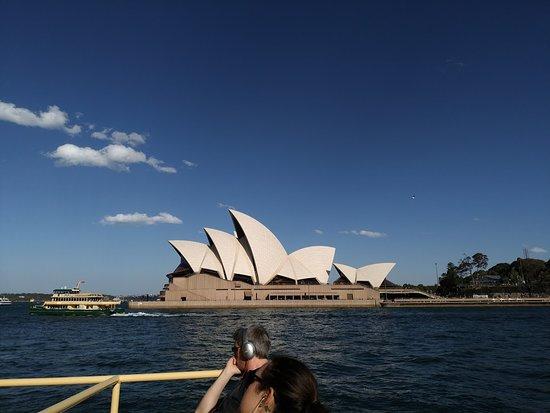 船上から見たオペラハウス