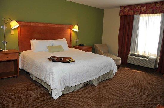 Hampton Inn Clinton: Guest room