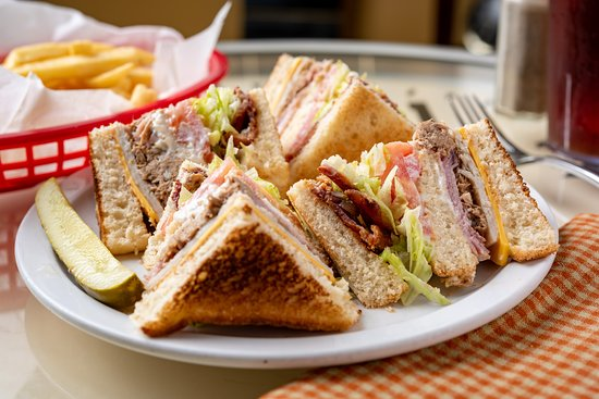 Theodore, AL: Triple Club Sandwich
