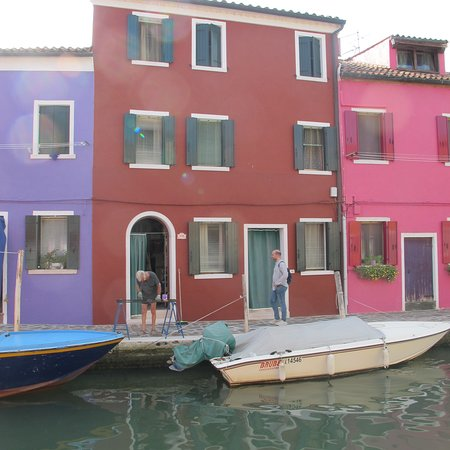 beautiful colored houses