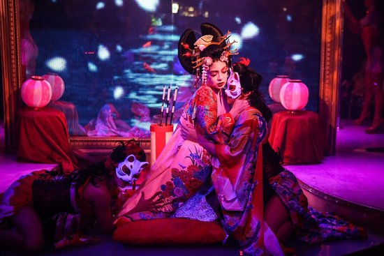 Best Geisha Show in Roppongi Tokyo - Picture of Tantra Artistic ...