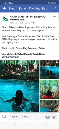 Garcia Hernandez, Philippines: Ugbuhan spring