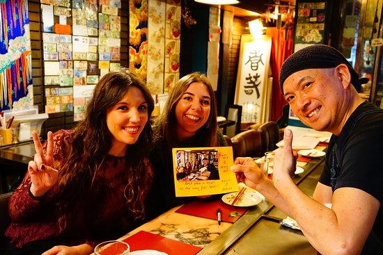 Rosio-san & Monica-san! Muchas Gracias for coming back from August in 2018! We love your Sunshine smiles! See you soon again! Hasta la Vista! OOKINI & MATANE!