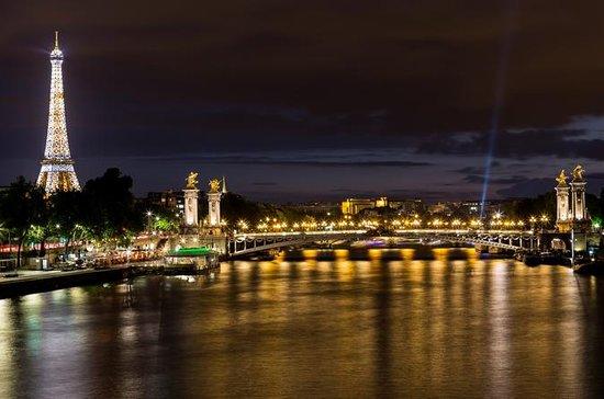 Eiffeltornet, kryssning på Seine och ...