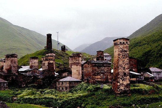 4-dagars privat tur till Svaneti ...