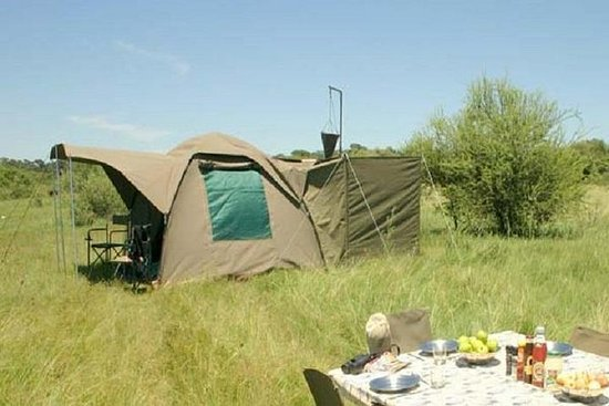 3-dagers Chobe National Park Camping...