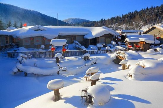 3-Day Private Trip To China Snow Town...