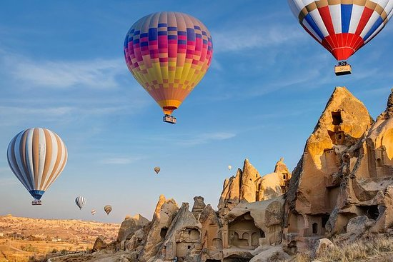 5天伊斯坦布尔和卡帕多西亚之旅,包括热气球飞行