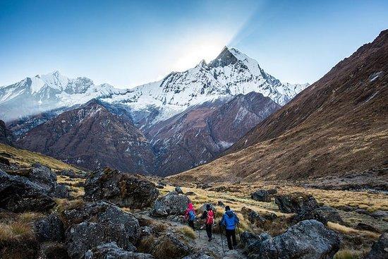 14 giorni di trekking nel campo base