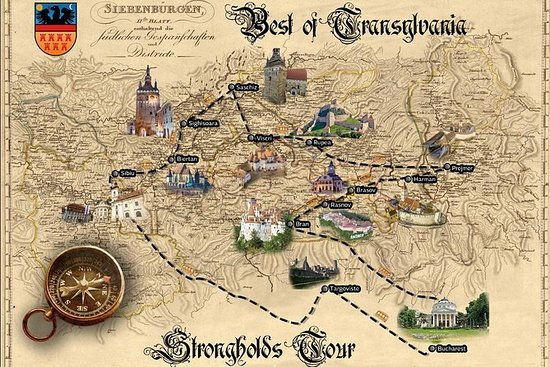 Strongholds Tour in Transylvania from...