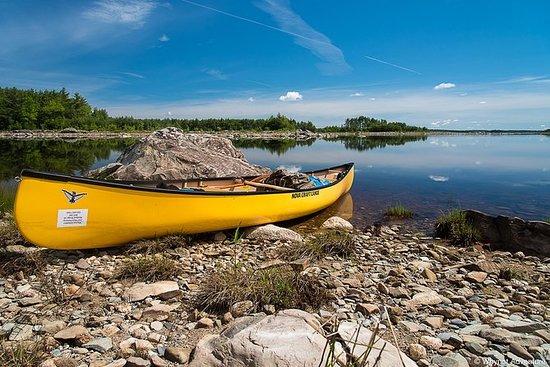 Gita in canoa sul lago Rossignol - 3