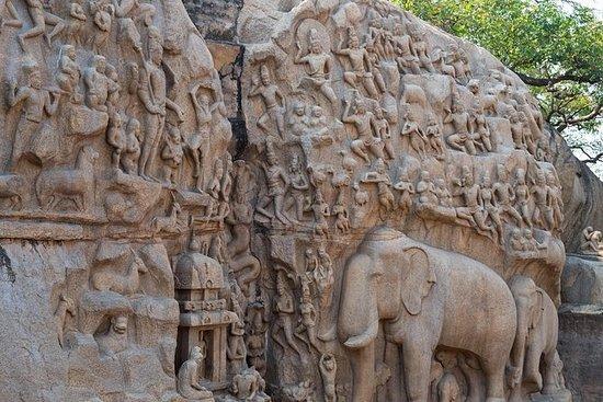 来自Chennai的Mahabalipuram和Pondicherry多日游