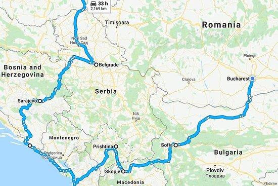 14 days Balkans Tour from Bucharest...