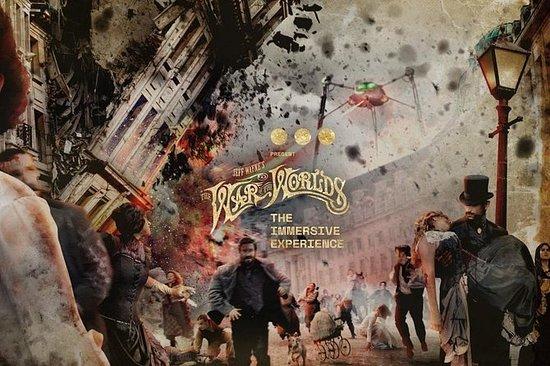 A guerra dos mundos de Jeff Wayne: a...