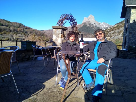Lanuza, Испания: Terraza
