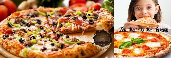 Kirtipur, Nepal: Local Pizza  Veg-Chicken-Mushroom-Mix