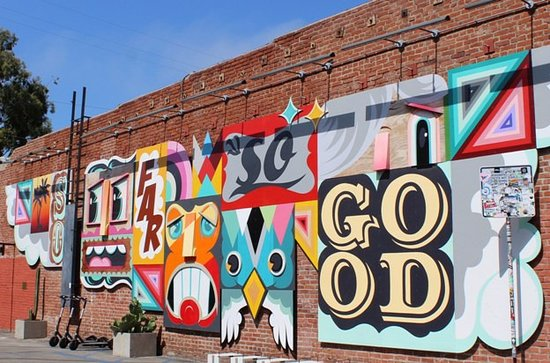 """So far so good"" mural"