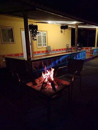 Cardamom Grove Homestay: Bonfire